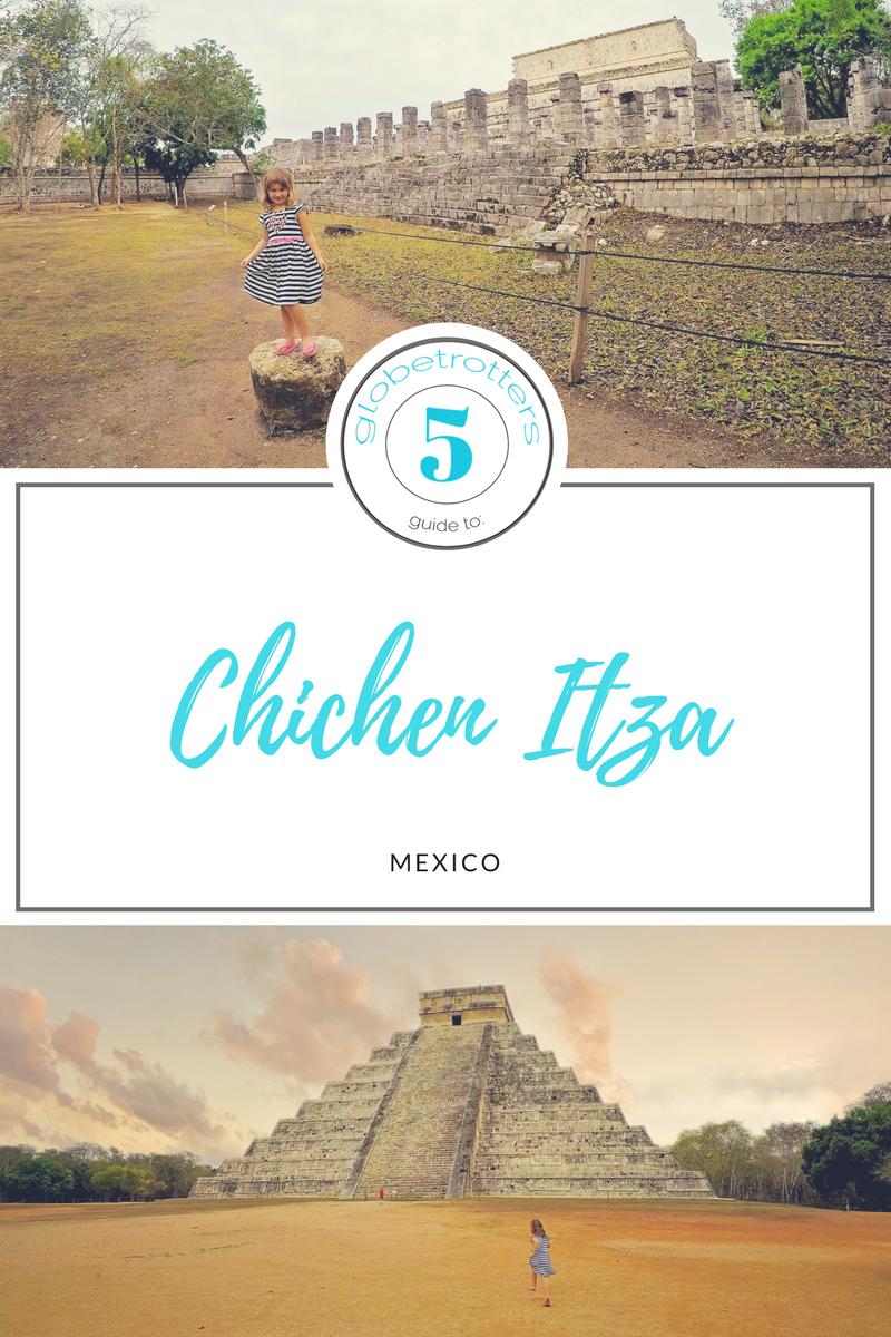 The 5 Globetrotters guide to Chichen Itza #mexico #yucatan