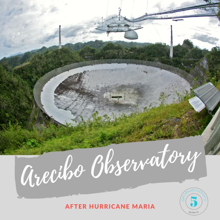 Arecibo Observatory - After Hurricane Maria